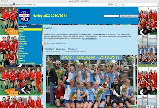 Website MC2 seizoen 2010/2011